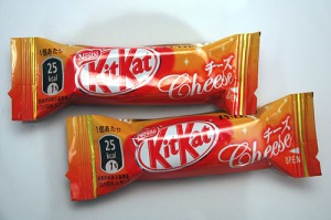 Yes, Kit Kat Cheese - wonder if @captain_doodle has tried this?