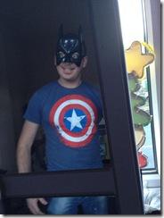 _bieredeluxe Captain America meets Batman - thanks to my #Twanta2013 present