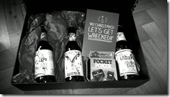 _dbrereton My timeline reveal me. Excellent present from my twantor, beer, not just beer but IPA too! Thanks so much