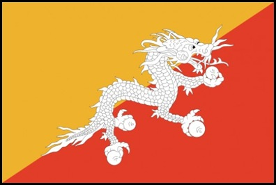 Bhutan is a small, landlocked country in South Asia, close to India. In 2012 it had an estimate population of 700.000 people.