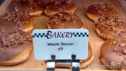 Bacon doughnuts