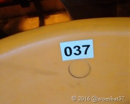 My appropriate seat number