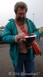 Here's Martin with the tickets