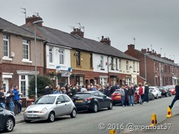 Willbutt's Lane Chippy queue
