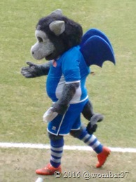 Yet another mystery mascot. WTF?