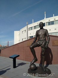 Jimmy Armfield and the tower