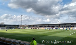 Pirelli Stadium - three sides standing