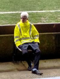 Hipster steward
