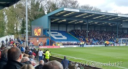 A little light banter between Bury & Millwall fans