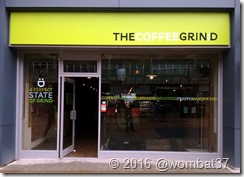 The new shop on Newport Street