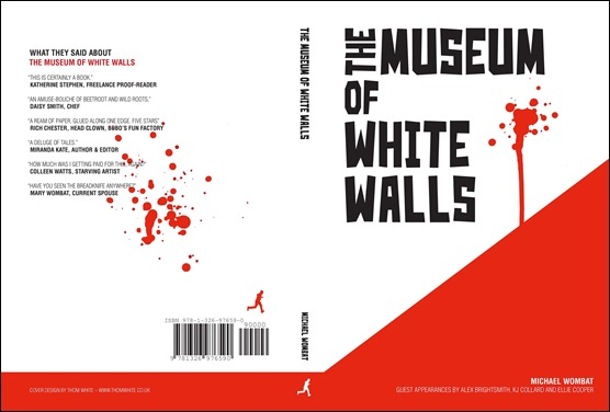 The Museum of White Walls, cover by Thom White