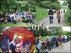 2014 pics - click to enlarge - I totally photoshopped @realaqua in, cos she took the photo