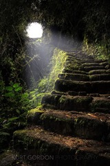 Stone Stairs by Kurt Gordon