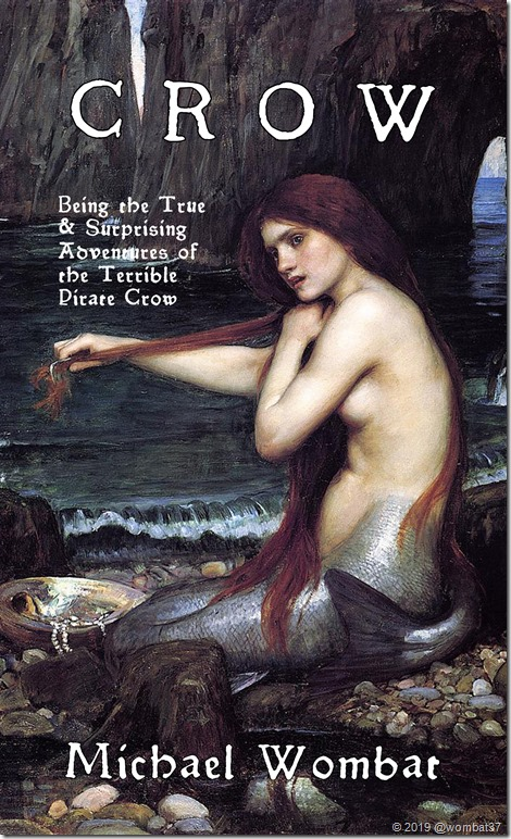 Crow cover mermaid waterhouse